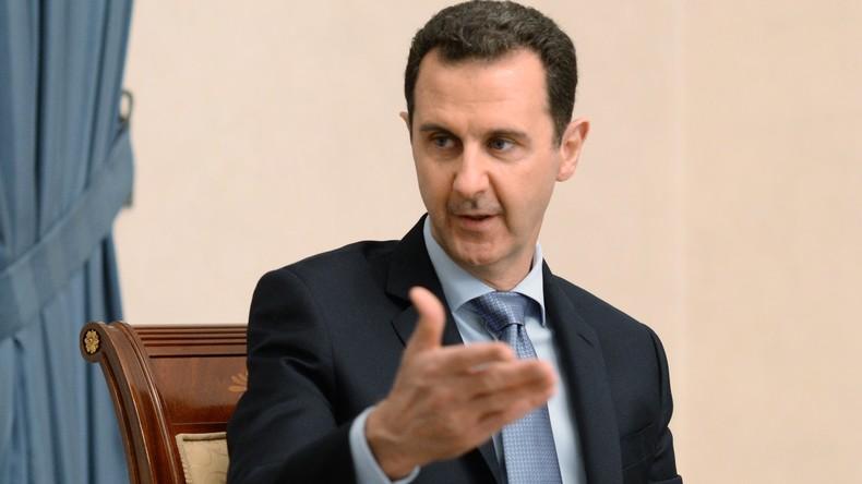 """Baschar al-Assad gegenüber """"Sunday Times"""": """"Es ist nicht an der Zeit, zurückzutreten"""""""