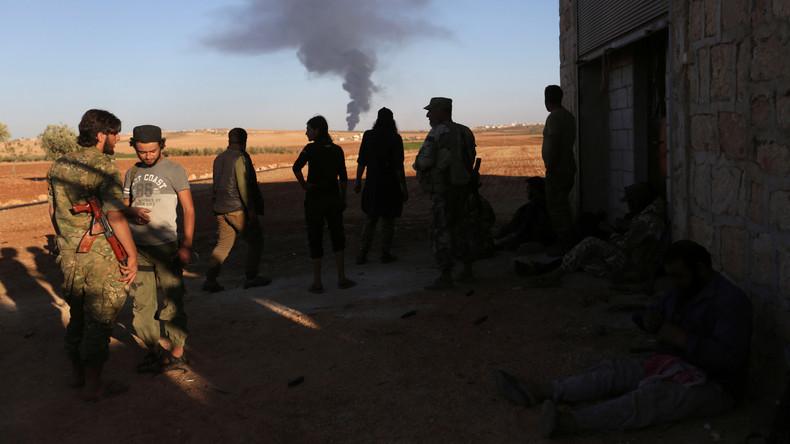 Die von Ankara unterstützten Milizen rücken zum nordsyrischen Al-Bab vor