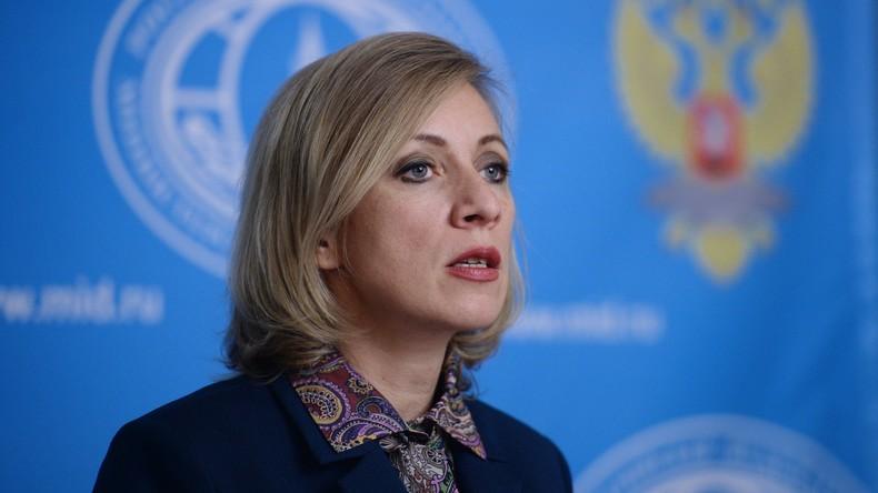 Maria Sacharowa nennt die Anti-Terror-Operation in Mossul ein mittelalterliches Gemetzel