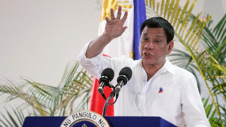 Philippinen: Duterte kündigt Waffen-Deal mit USA auf