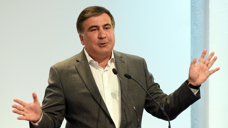 Ukraine: Saakaschwili tritt vom Posten des Gouverneurs von Odessa zurück
