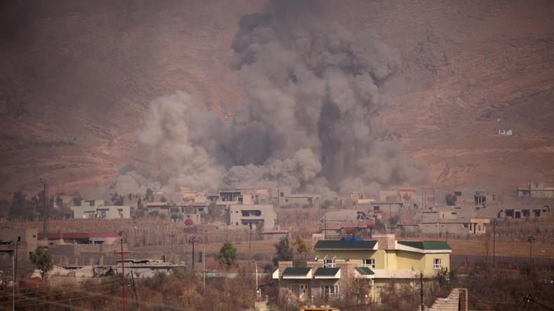 IS verwendet in Mossul Chlor- und Senfgas - kurdische Behörden