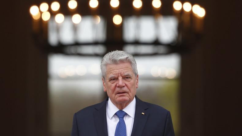 """Gauck: """"Beim Blick nach Washington bin ich besorgt"""""""