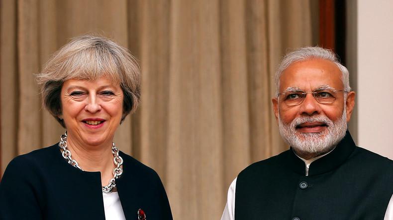 Großbritannien heißt wohlhabende Geschäftsleute aus Indien willkommen