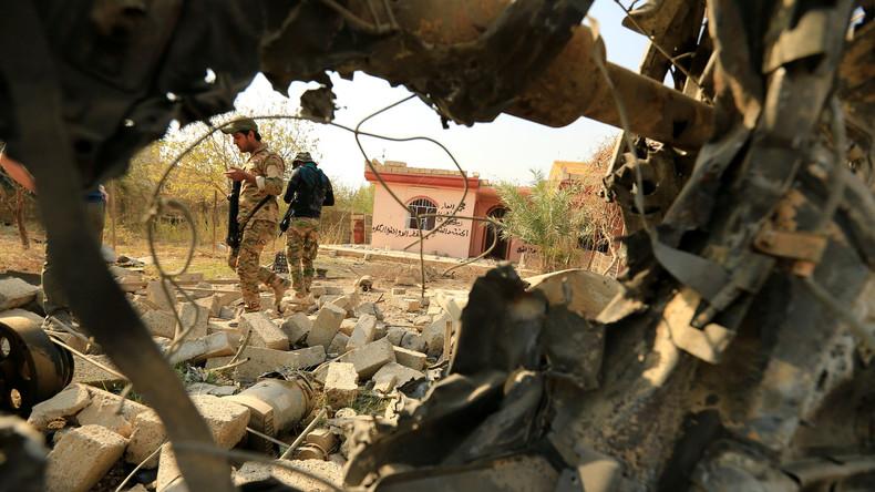 Mossul: Massengräber mit 100 enthaupteten Leichen entdeckt
