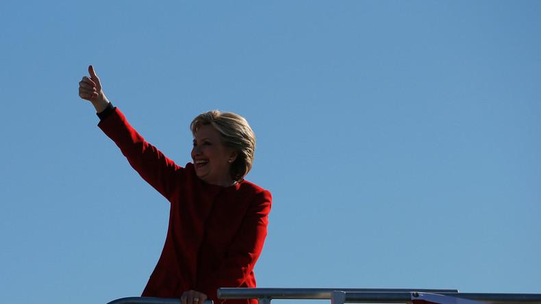 Vorsicht ist besser als Nachsicht: Clinton sagt ihre Siegesparty zunächst ab