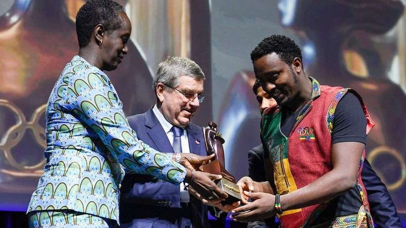 """IOC-Auszeichnung """"Frauen und Sport"""" an äthiopischen Journalisten verliehen"""