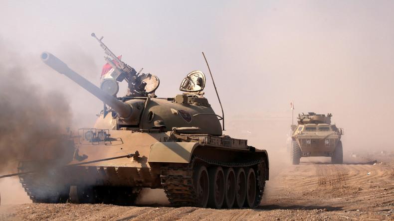 Mossul: Irakische Armee befreit zwölf Wohnbezirke vom IS