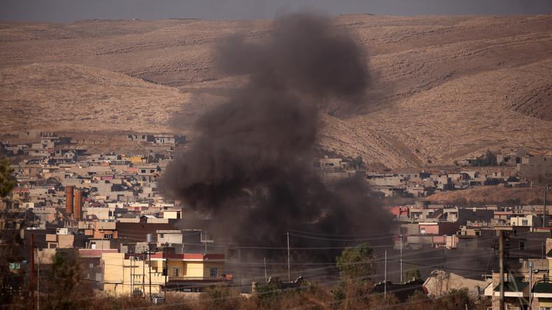 IS-Massengrab mit 100 Leichen - Kämpfe im Inneren von Mossul