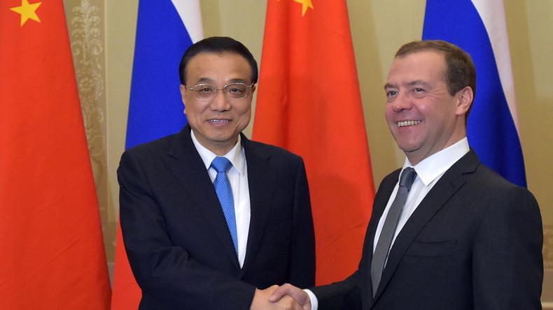Medwedew: Warenumsatz zwischen Russland und China übersteigt 40 Milliarden US-Dollar