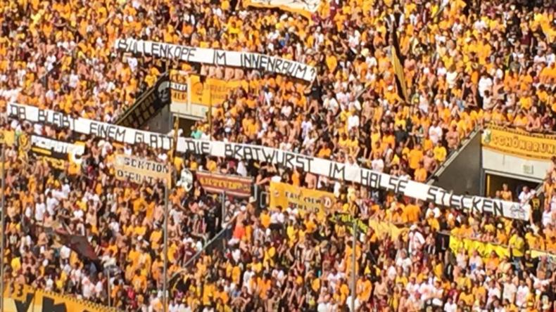 60.000 Euro Geldstrafe für Dynamo Dresden wegen Bullenkopf-Skandal