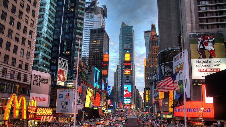Live: Die Menschen am Times Square erwarten Wahlergebnis – Wer wird neues Staatsoberhaupt der USA?