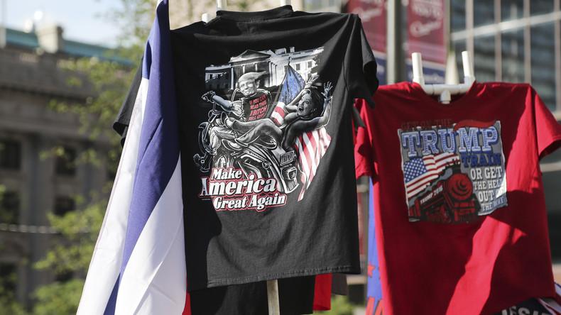 Wahltags-Ausverkauf: Trump-T-Shirts mit 30 Prozent Rabatt