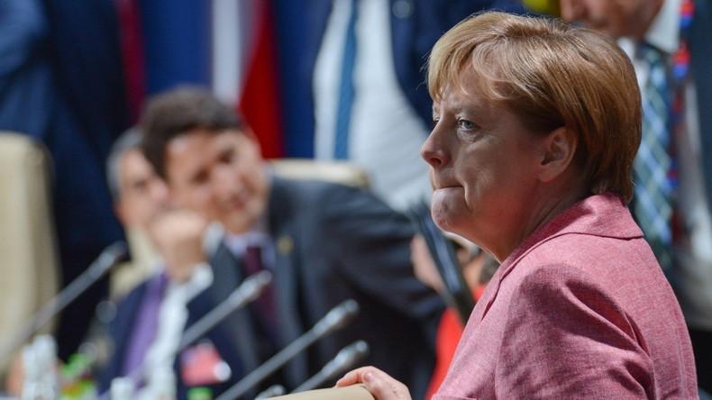 Merkel fürchtet Angriff russischer Hacker bei Bundestagswahl