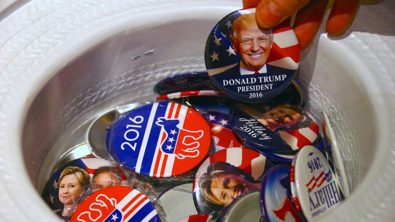USA schlagen Kreuz über Wahlprognosen