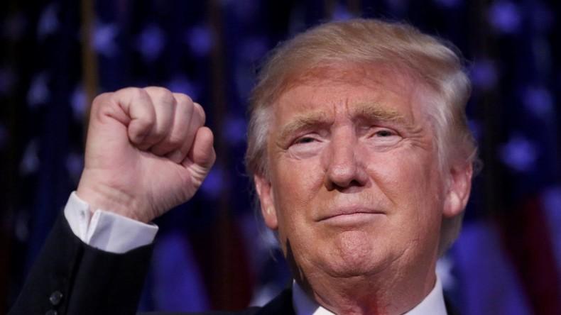 Präsident Trump: Ich strecke allen die Hand entgegen, die gegen mich waren