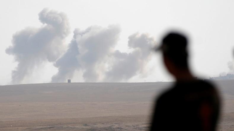 US-Luftwaffe bombardiert Mossul seit drei Tagen alle acht Minuten