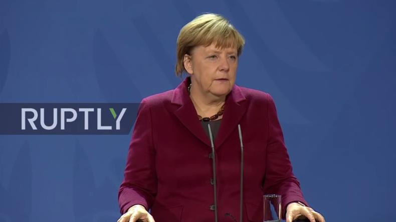 Live: Merkel äußert sich zu Wahlausgang in den USA und neuen Präsidenten Trump