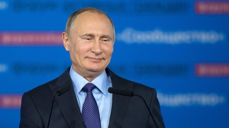 """Wladimir Putin nach Donald Trumps Sieg: """"Wirwollen die Beziehungen zu den USA wiederherstellen"""""""