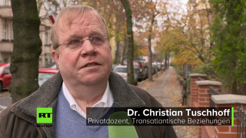 Dr. Christian Tuschhoff: Wahl Trumps bedeutet, die USA werden sich isolieren