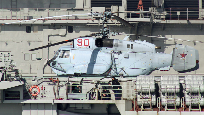 Russische Flugzeugträger-Kampfgruppe jagt niederländisches U-Boot weg