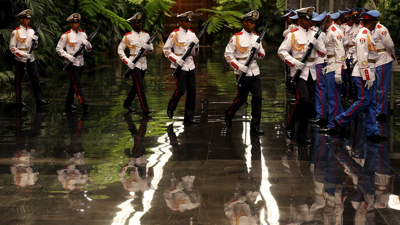 Kuba feiert Trumps Sieg mit umfangreichen Manövern
