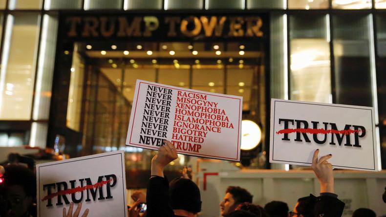 Trump Tower bis zur Inaugurationszeremonie unter verstärkte Überwachung gestellt