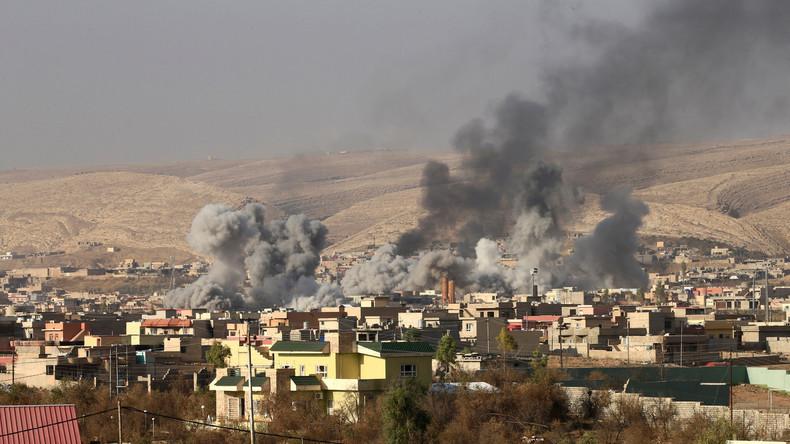 USA räumen erstmals ein: Mindestens 119 getötete Zivilisten in Irak und Syrien