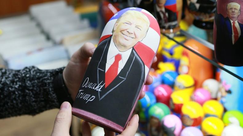 Trump-Matroschkas: Ab jetzt in Souvenirläden Moskaus