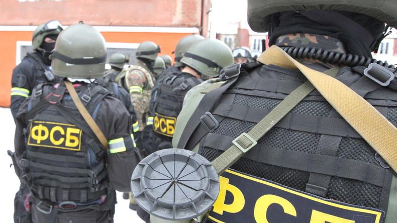 Ukrainische Diversionsgruppe in Sewastopol inhaftiert