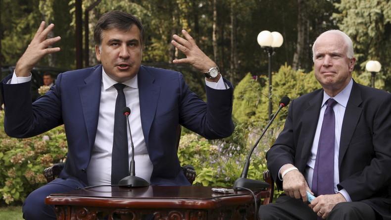 """Saakaschwili wirft hin: Odessa und das Scheitern der Politik des """"Regime Change"""""""