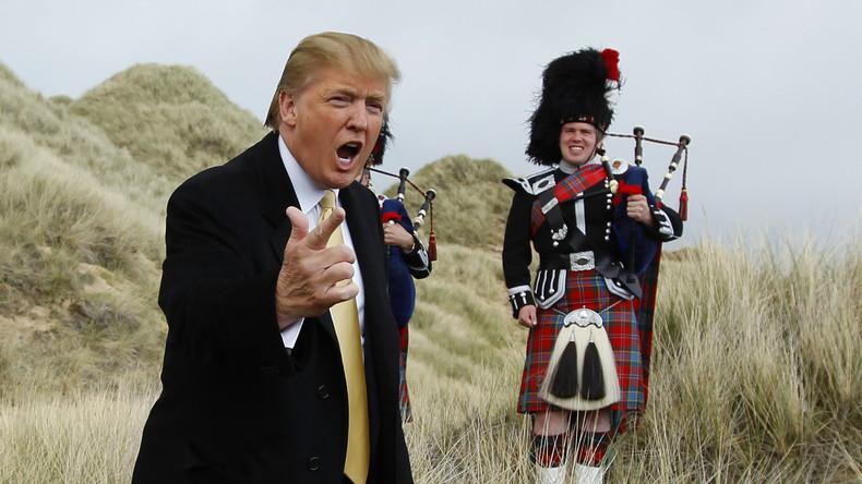 Donald Trump erwartet Gegenwind vom transatlantischen Establishment