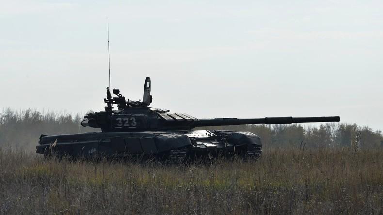 Ukraine hebt rund 250 Kilometer Panzergraben an Grenze zu Russland aus