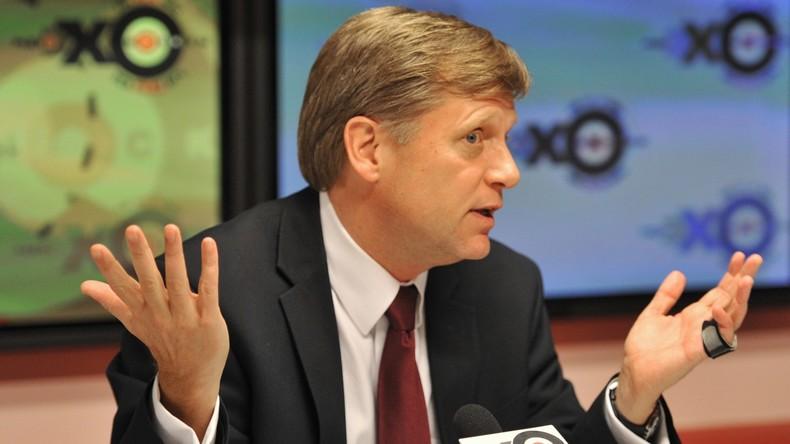 Ex-US-Botschafter Michael McFaul darf nicht mehr nach Russland