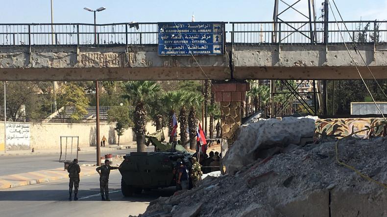 Syriens Armee bringt Al-Assad-Viertel in Westaleppo unter eigene Kontrolle
