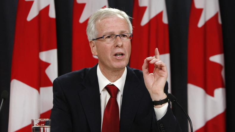 Kanadas Außenminister Stéphane Dion ruft den Westen auf, die Russland-Sanktionen aufrechtzuerhalten