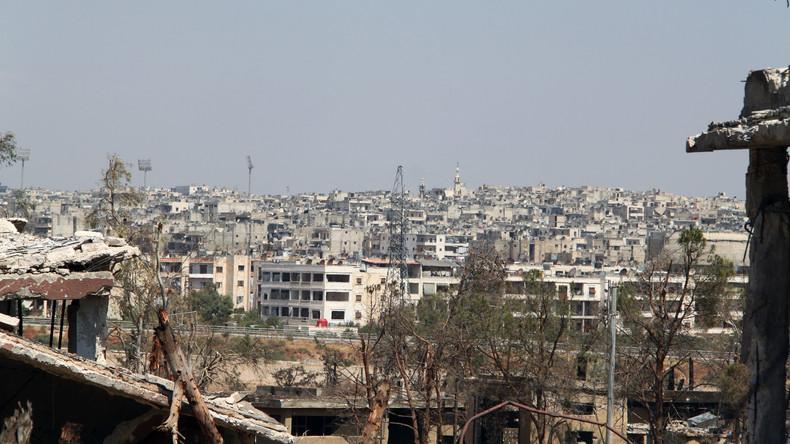 Extremisten beschießen mit Raketen Wohviertel von Aleppo