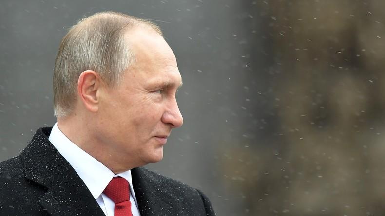 "Wladimir Putin: ""Unsere Armee bedroht niemanden"""