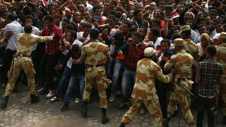 Äthiopiens Polizei nimmt im ersten Monat des Ausnahmezustandes 11.000 Personen fest
