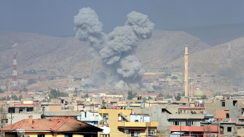 IS-Kämpfer setzen im Irak Chlorbomben ein