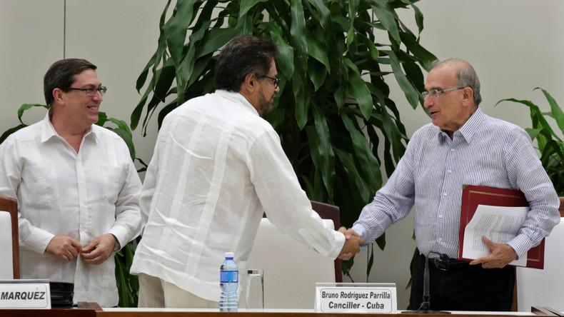 Kolumbien: Regierung und Aufständische unterzeichnen neuen Friedensvertrag