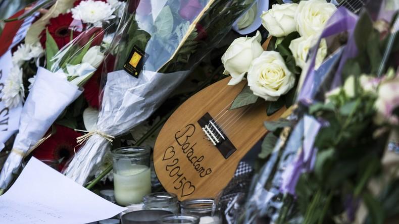 Frankreich erinnert sich an die Opfer des Anschlags vom 13. November 2015