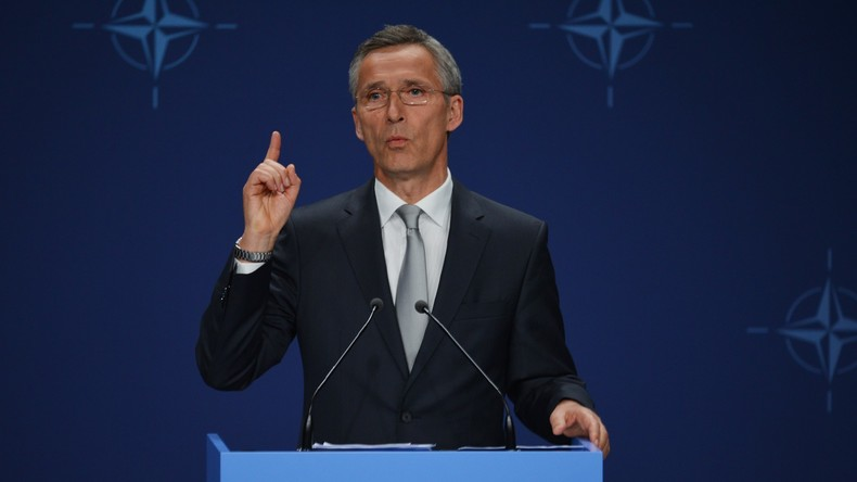 NATO-Generalsekretär Jens Stoltenberg erinnert Donald Trump an die Wichtigkeit der Allianz