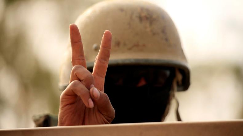 Irakische Soldaten befreien Nimrud von IS-Kämpfern