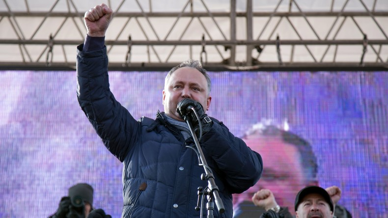 Moldawien: Sozialist Igor Dodon wird Präsident