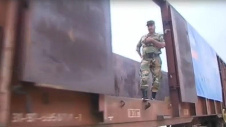 Syrien: Eisenbahnstrecke Tartus-Dschabla wieder aufgebaut – erste humanitäre Hilfe geliefert