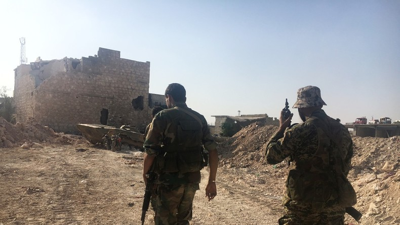 Aleppo: Terroristen setzten Giftgas gegen syrische Militärs ein