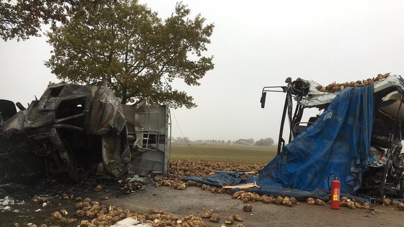 Frankreich: Schulbus mit LKW zusammengeprallt - ein Todesopfer, drei Verletzte