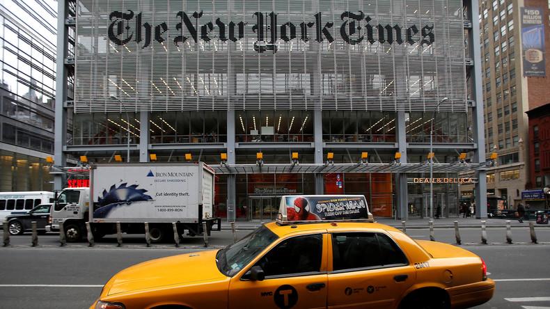 New-York-Times rechtfertigt sich mit offenem Brief: in Zukunft faire Berichterstattung?