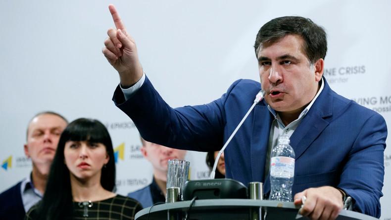 Saakaschwili: Die Ukraine könnte bald von der Landkarte verschwinden